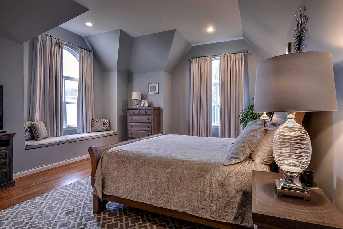 A bedroom makeover Interior Design project on Long Island